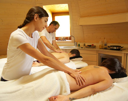 masajes en pareja
